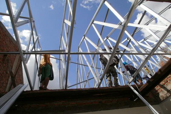 jasa pemasangan atap baja ringan