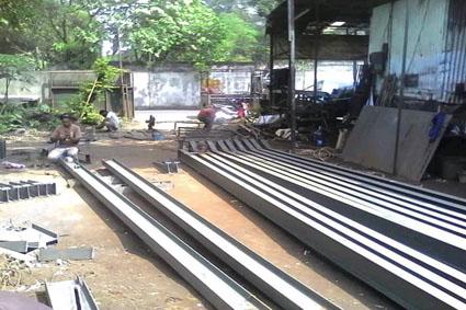 jasa borongan pekerjaan konstruksi baja 2020 f