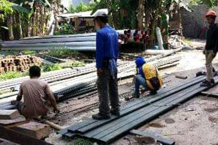 jasa borongan pekerjaan konstruksi baja 2020 e