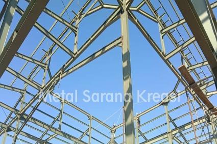 kontruksi baja bangunan masjid
