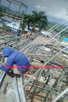kontruksi baja masjid 2020