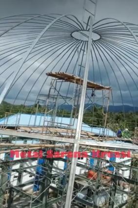 harga jasa kontruksi baja masjid 2020